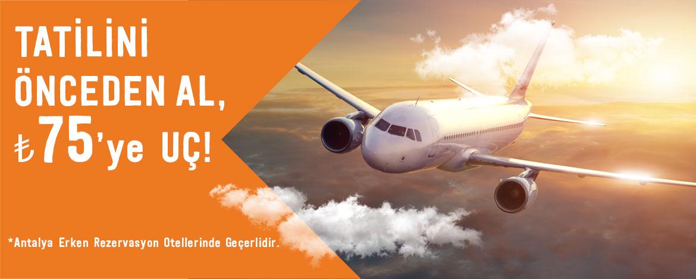 Antalya Uçak Kampanyası