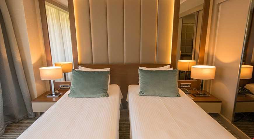 Standart Oda 29 m² genişliğindedir.