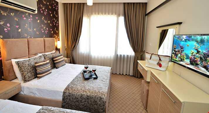 Standart Odalar 12-15 m² büyüklüğündedir