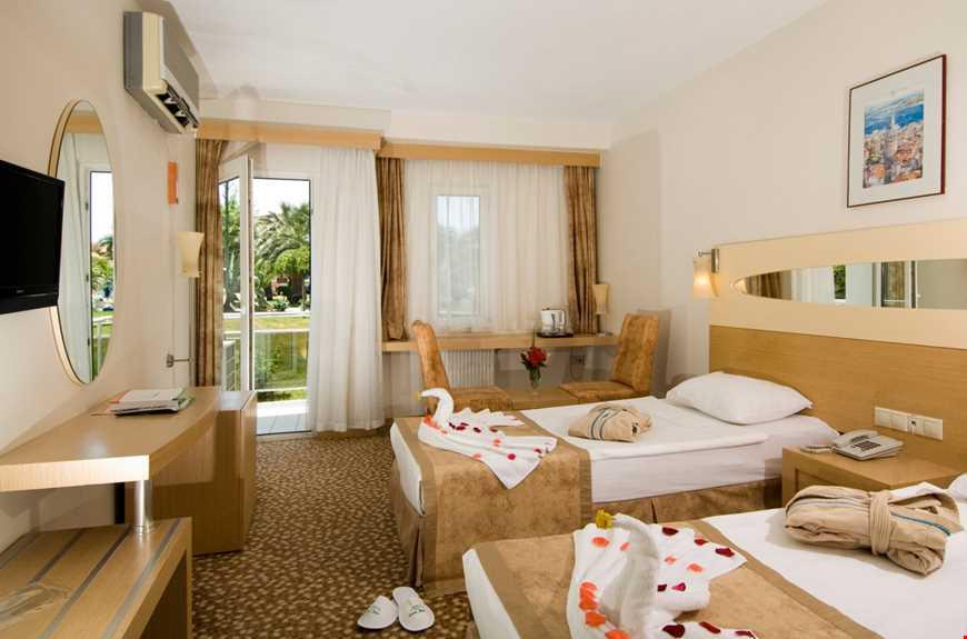Standart oda, 21 m² genişliğindedir.
