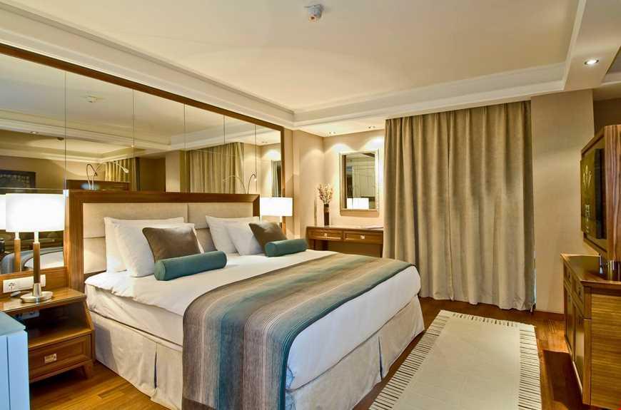 Standart oda,22 - 27 m2 genişliğindedir.