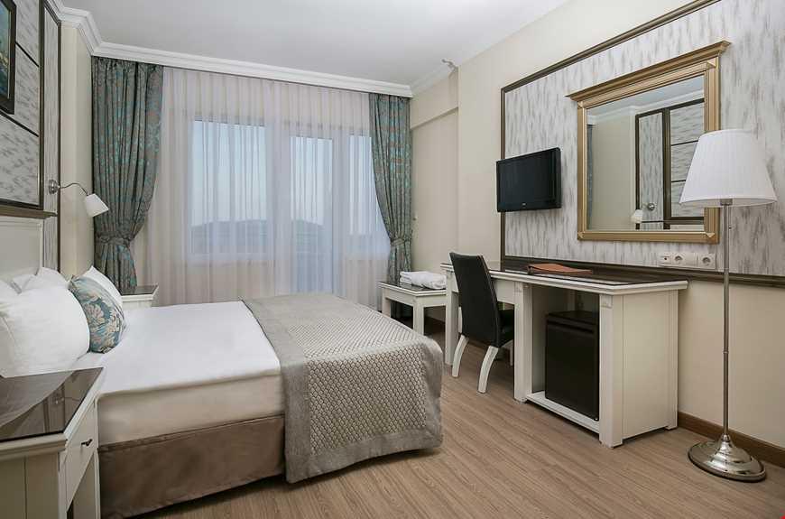Standart oda, 20 - 25 m2 genişliğindedir.
