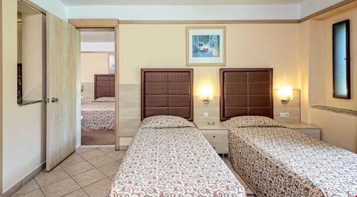 Superior odalar (38 m2) 2 yatak odalıdır.