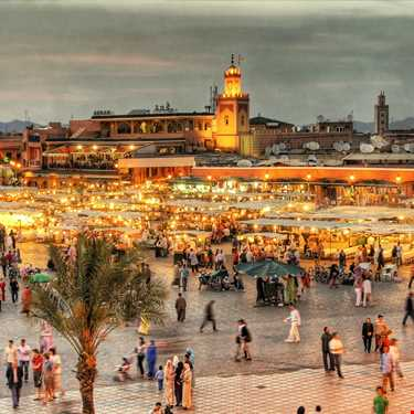 Casablanca - Marrakech Turu 2018