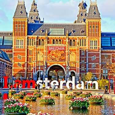 Her Gün Hareketli Amsterdam Turu 4* Corendon Vitality Hotel 2 Gece