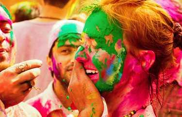 Hindistan'da Holi Festivali (16-23 Mart 2019) - Ana