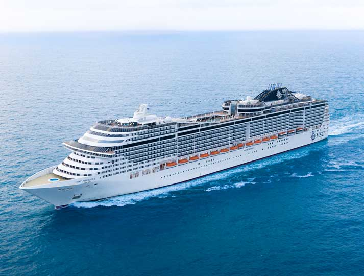 A02-Msc Preziosa ile Akdeniz 08 Ekim 2018 - 9n - K